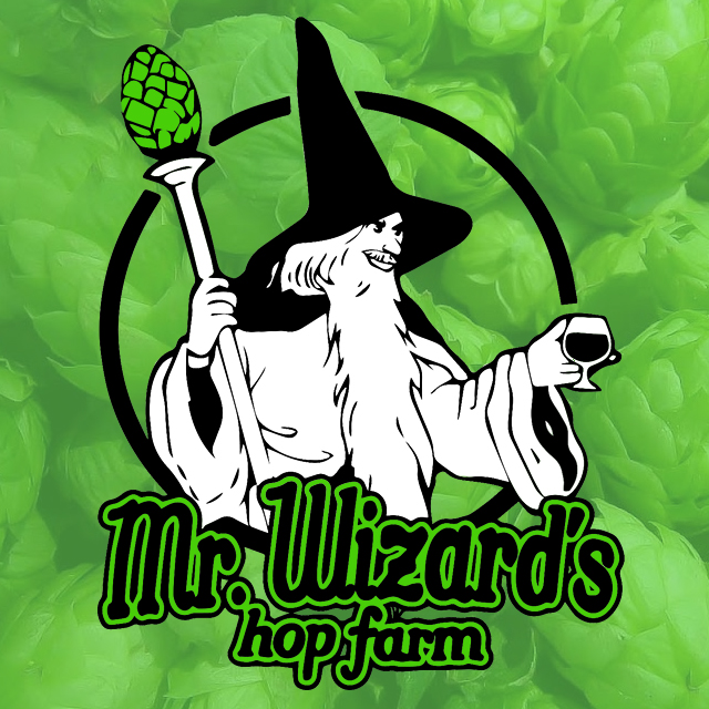 Mr. Wizard's Hops logo